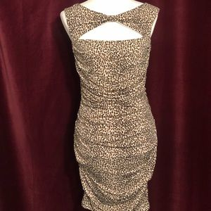 Betsey Johnson Cheetah Print Dress